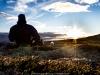Solnedgang, Hardangervidda