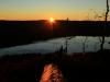 Solnedgang på Rauberflaket