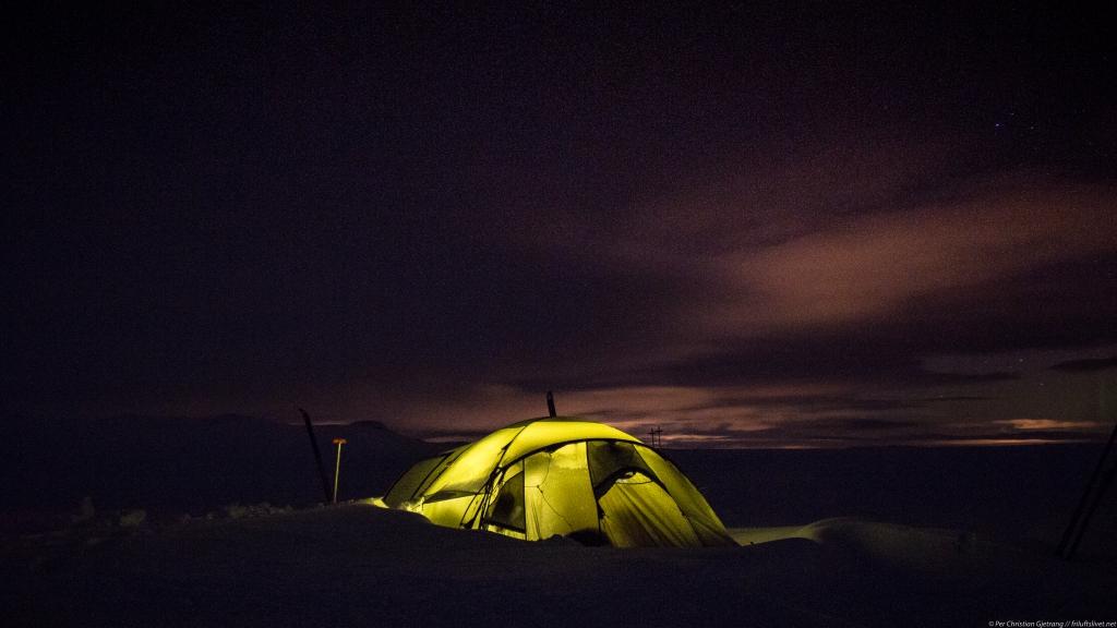 Vintertur til Lufsjå – En tøff, fin tur! –