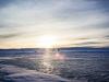 Lav sol i Januar